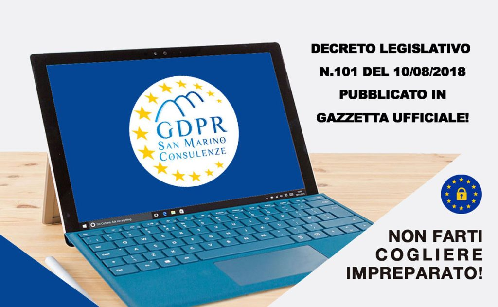 gdpr-gazzetta-ufficiale-settembre-2018